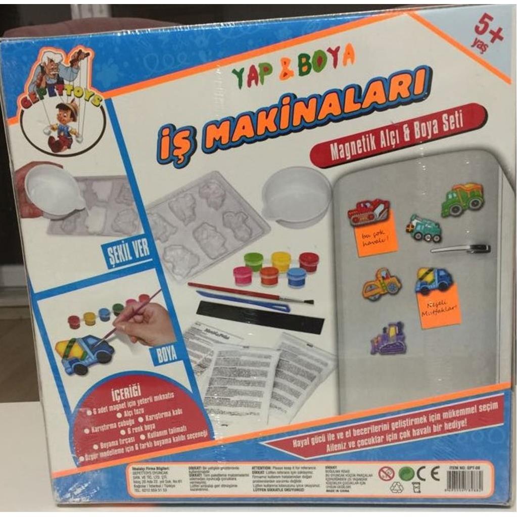 Magnetik Alci Ve Boya Seti Is Makinalari Buzdolabi Magneti Yapma