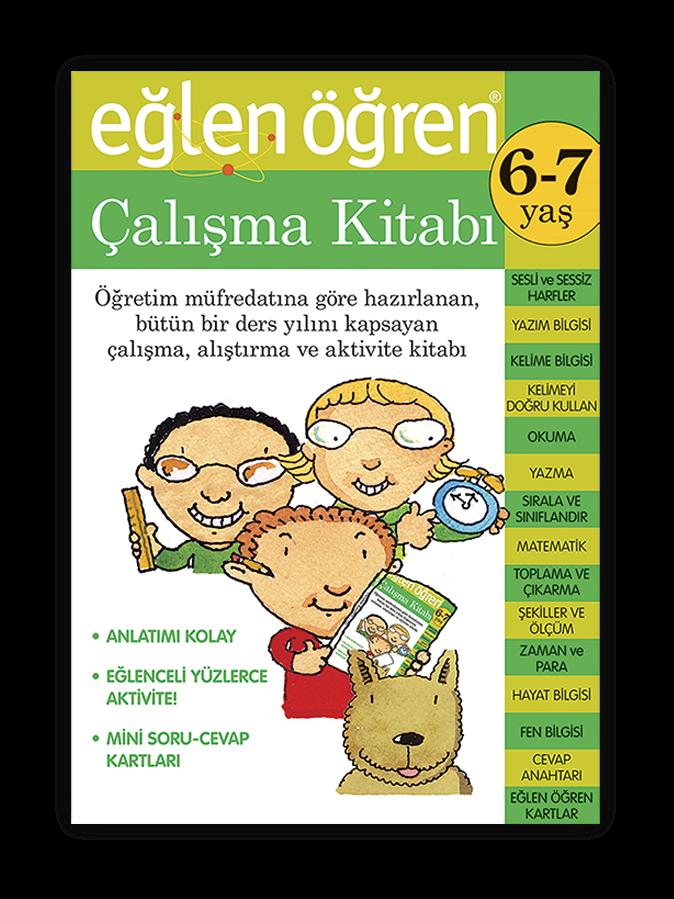 Eglen Ogren Calisma Kitabi 6 7 Yas Akil Akademi
